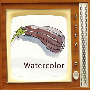 eggplant on TV